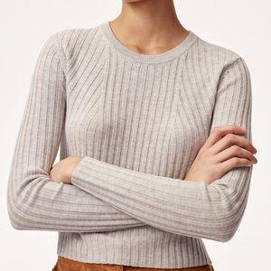 Aritzia   Babaton Nathaniel Cropped Wool Sweater